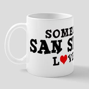 San Simeon: Loves Me Mug