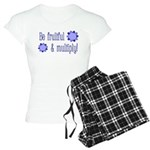 Be fruitful and multiply! blue design Women's Ligh