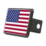American Flag Rectangular Hitch Cover