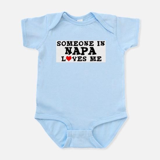 Napa: Loves Me Infant Creeper