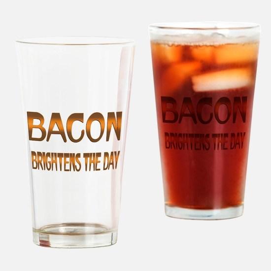 Bacon Brightens Drinking Glass