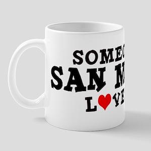 San Mateo: Loves Me Mug