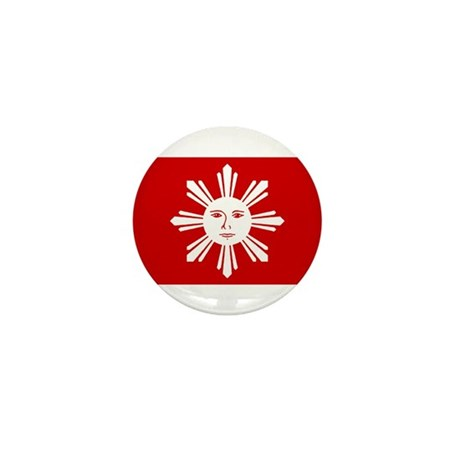 First Official Flag of the Ph Mini Button (100 pac