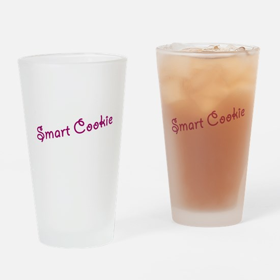 smart cookie Drinking Glass