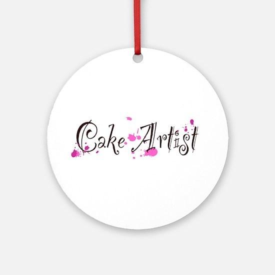 Cake Artist Ornament (Round)