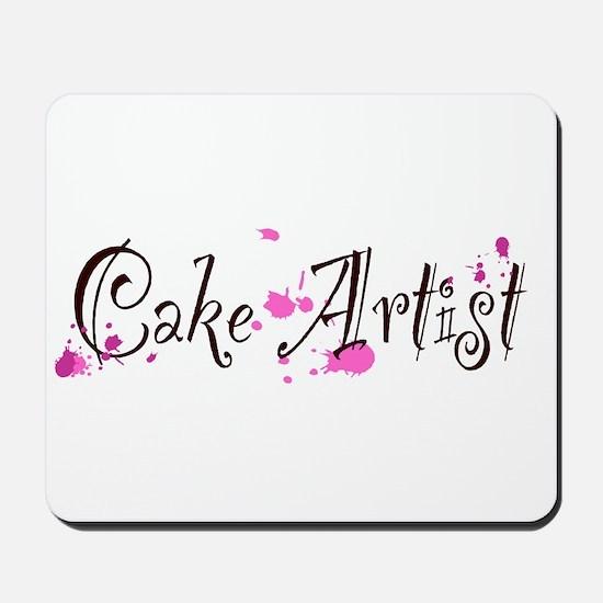 Cake Artist Mousepad
