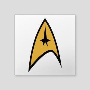 "Star Trek Square Sticker 3"" x 3"""