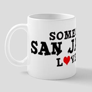 San Jacinto: Loves Me Mug