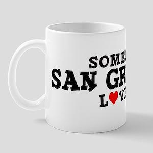 San Gregorio: Loves Me Mug