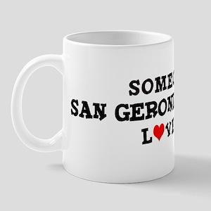 San Geronimo Valley: Loves Me Mug