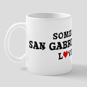 San Gabriel Valley: Loves Me Mug