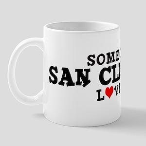 San Clemente: Loves Me Mug