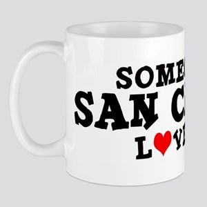 San Carlos: Loves Me Mug