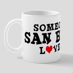 San Bruno: Loves Me Mug