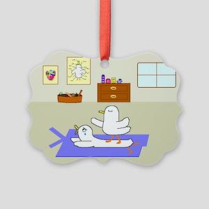 Massage Picture Ornament