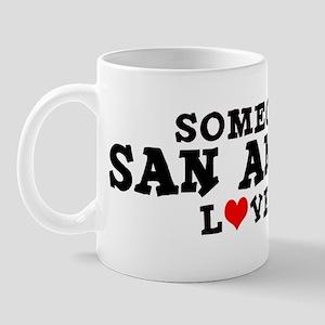 San Antonio: Loves Me Mug