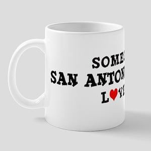 San Antonio Heights: Loves Me Mug