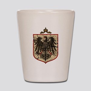German Imperial Eagle Distressed Shot Glass