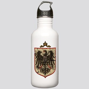 German Imperial Eagle Distressed Stainless Water B