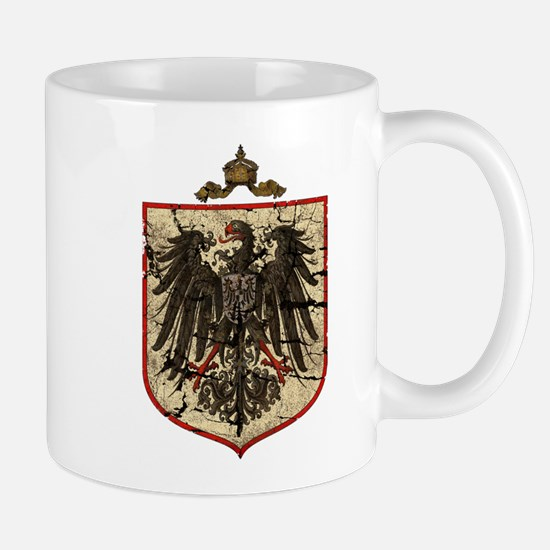 German Imperial Eagle Distressed Mug