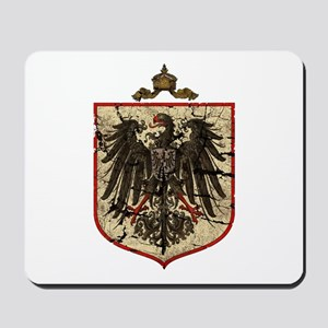 German Imperial Eagle Distressed Mousepad