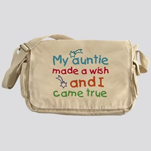 My Auntie made a wish Messenger Bag