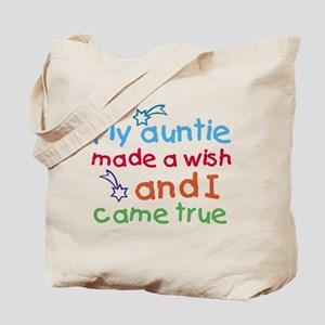 My Auntie made a wish Tote Bag