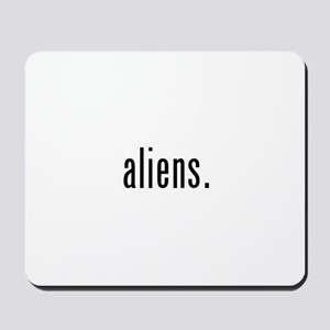 Aliens Mousepad
