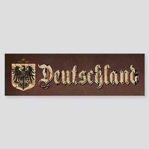 German Imperial Eagle Distressed Sticker (Bumper)