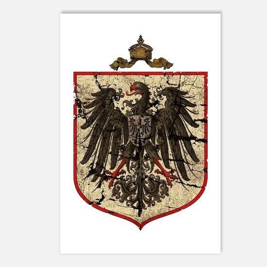 German Imperial Eagle Distressed Postcards (Packag