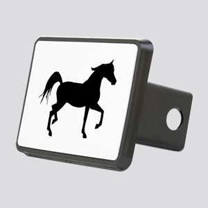 Arabian Horse Silhouette Rectangular Hitch Cover