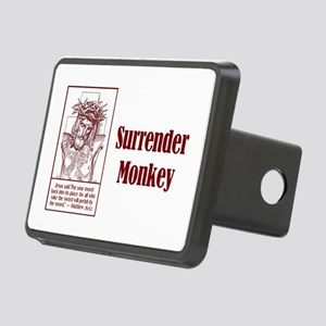 Surrender Monkey Rectangular Hitch Cover