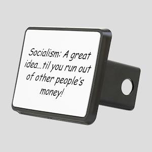 Socialism Rectangular Hitch Cover