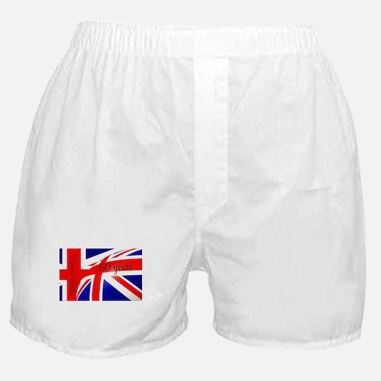 Diamond Jubilee Union Jack3 Boxer Shorts