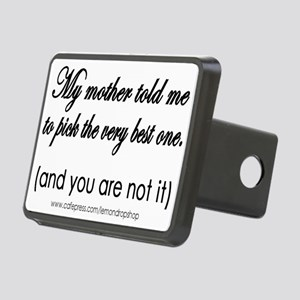 You are not it! Rectangular Hitch Cover