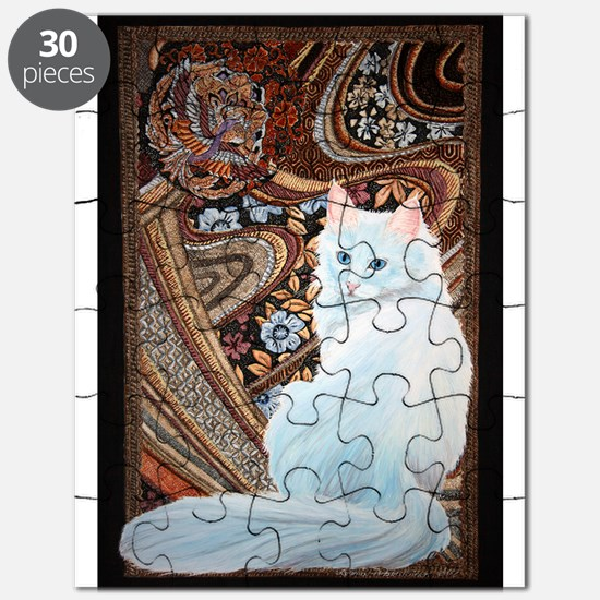 White Turkish Angora Puzzle