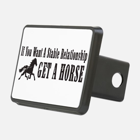 Stable Relationship Rectangular Hitch Coverle)