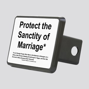 Protect the Sanctity of Marriage* Rectangular Hitc