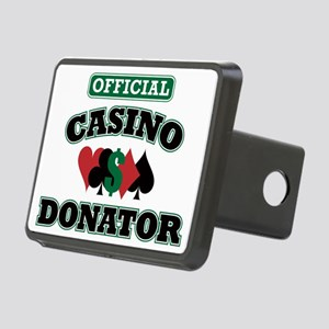 Official Casino Donator Rectangular Hitch Coverle)