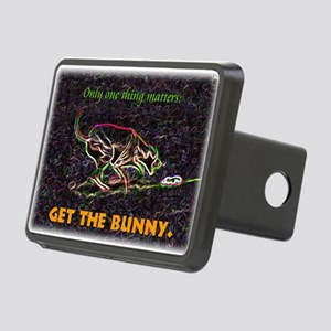 Lure course/bunny Rectangular Hitch Cover