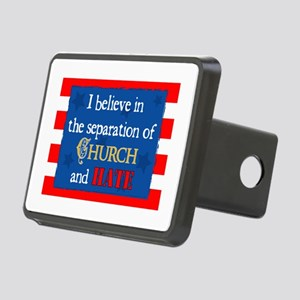 Church & Hate Rectangular Hitch Cover
