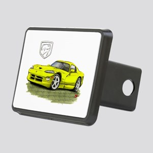 Viper Yellow Car Rectangular Hitch Cover