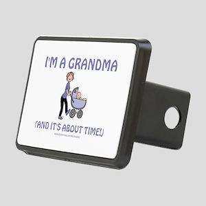 I'm A Grandma Rectangular Hitch Cover