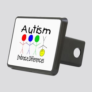 Autism, Embrace Differences Rectangular Hitch Cove