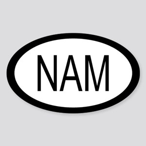 Namibia Car Sticker / Decal (Oval)