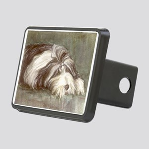 Bearded Collie Rectangular Hitch Cover