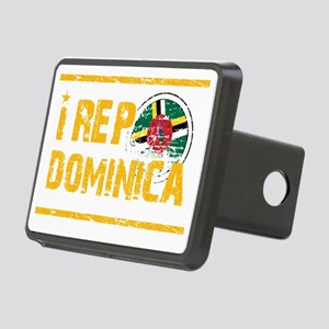 I rep Dominican Rectangular Hitch Coverle)