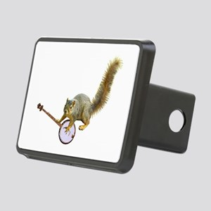 Squirrel with Banjo Rectangular Hitch Cover
