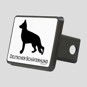 Deutscher Schaferhund Rectangular Hitch Coverle)