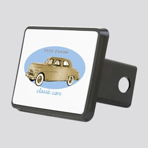 classic cars 1950 DeSoto Rectangular Hitch Cover